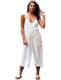70311c60ad76b Amazon.co.uk: White - Jumpsuits & Playsuits / Women: Clothing