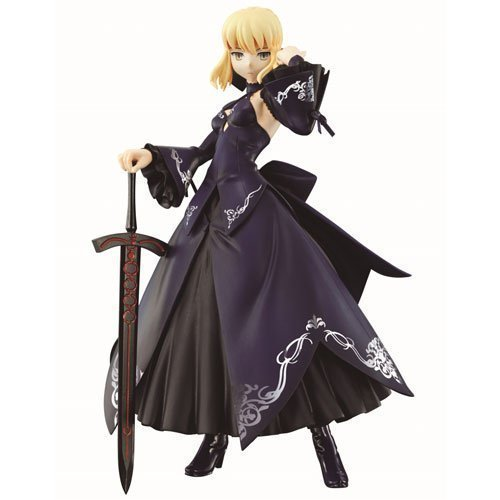 Preisvergleich Produktbild Ichiban Kuji premium Fate Series 10th Anniversary second edition Saber Special B Prize Shi dyed in darkness tyrant Saber Alter premium figure by Banpresto