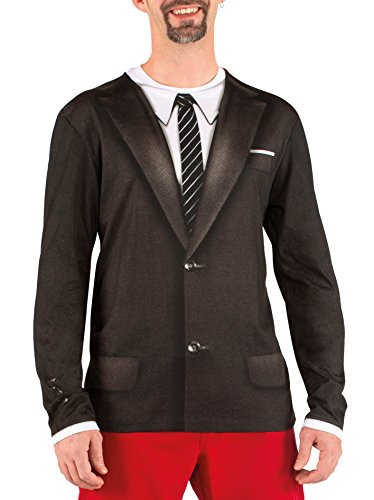 Boland 84207 - Camisa Vintage fotorrealista, disfraces para adultos