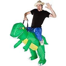 hinchable adulto disfraz dinosaurio