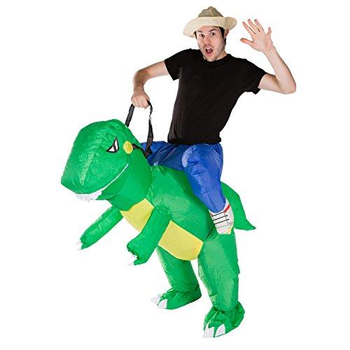 rier T-Rex Carry Ride kostüm für Erwachsene (T Rex Kostüm Weihnachten)