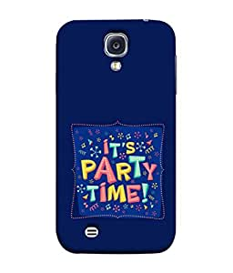 Fuson Designer Back Case Cover for Samsung Galaxy S4 I9500 :: Samsung I9500 Galaxy S4 :: Samsung I9505 Galaxy S4 :: Samsung Galaxy S4 Value Edition I9515 I9505G (Partying Enjoy Graphics Guys Girls After College)