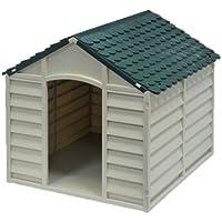 Caseta para perro de perro modular resina L89xP92xH89 cm.