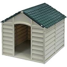Caseta para perro de perro modular resina L59xP66xH55 cm.