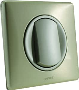 Legrand Celiane LEG99977 Poussoir 6 ampères complet titane