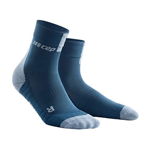 CEP - SHORT SOCKS 3.0 für Herren | Sportsocken für mehr Power und Ausdauer in blau / grau in Größe V -