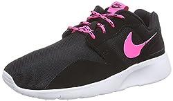 Nike Mädchen Kaishi Gs 705492-001 Low-Top, Schwarz (Black/pink pow-White), 38 EU