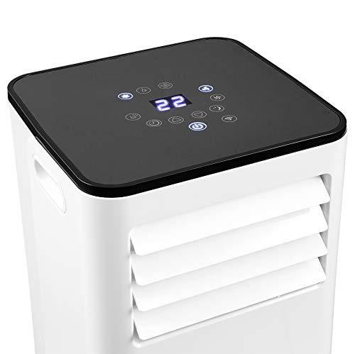 ELDOM - KLC9100 Tragbares Klimagerät mit Kühlung, Lüfter, Luftentfeuchter 9.000 BTU/h, Gas R290, Panel, Fernbedienung und iOS/Android App