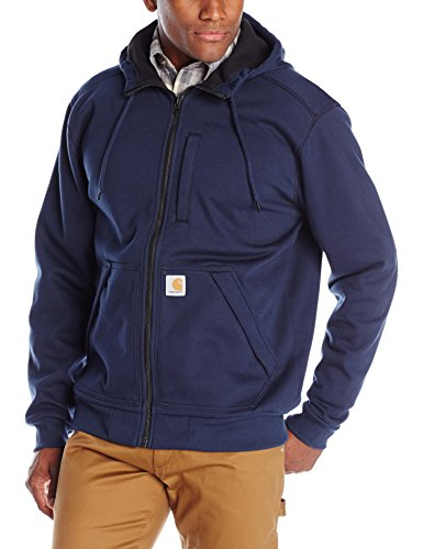 Carhartt Wind Fighter Zip Hoodie L Blau Carhartt Zipper