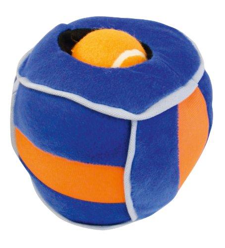 elzeug aus Plüsch - Loopies Plüschball mit verstecktem Ball mit Stimme, klein ()