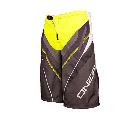 O'Neal Element FR Short Neon Gelb MTB DH Hose BMX Mountainbike MTB Downhill Kurze Hose, 0192S-10, Größe 28/44