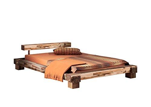 Modular cal140.41 Bett Cali / 140 x 200 cm/Akazie massiv, natur gewachst