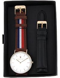 BLACK OAK Reloj con movimiento cuarzo japonés Man BX5880RSET-161 40 mm