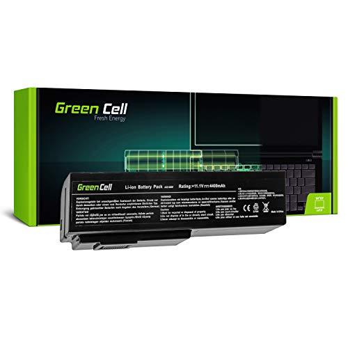 Green Cell Standard Serie A32-M50 A32-N61 Laptop Akku für ASUS G50 G50V G51 G51J G51VX G60 G60JX L50 M50 M50S M50SV M50V M50VC M60 X57 X57V (6 Zellen 4400mAh 11.1V Schwarz)