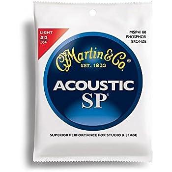 Martin SP 92/8 Acoustic Guitar Strings - Phosphor Bronze Wound (Light.012 - .054)