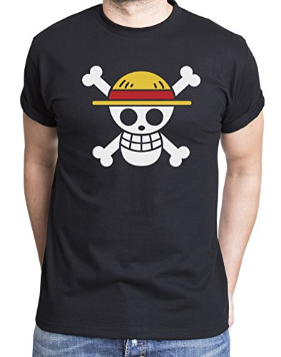 Camiseta de hombre logo Luffy