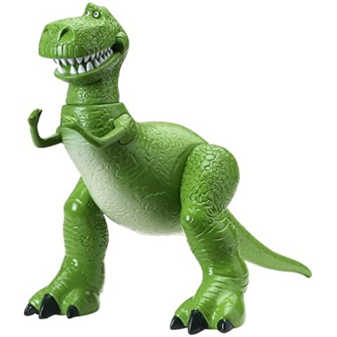 Toy Story 3 Deluxe Rex Collectible Figure by Mattel