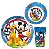 Ciao 49144 – Set Tisch Mickey Mouse Rally, Mehrfarbig