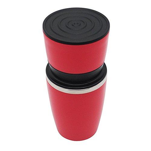starnearby Manuelle Kaffeemaschine Hand Druck Espresso Maschine Kaffee Drücken Flasche