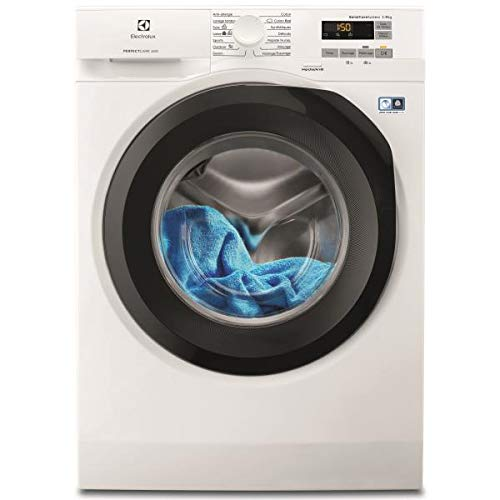 Electrolux EW6F1495RB Waschmaschine, freistehend, 9 kg, 1400 U/min, A+++-20{c82097fc7ae3491c3028d46fc50b3a16a2f58e835b2d7dab026961adbea6ddfd} - Waschmaschinen (freistehend, Beladung oben, Weiß, Tasten, links, LCD)