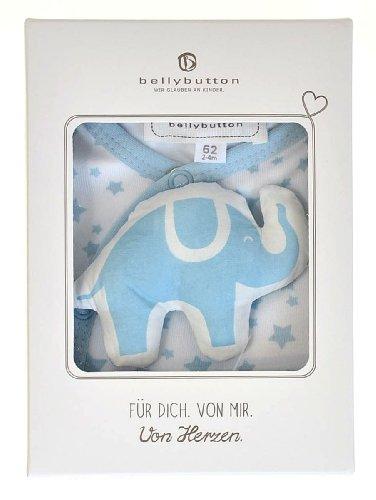 bellybutton 11216-40200 Schlafstrampler & Knistertier light blue