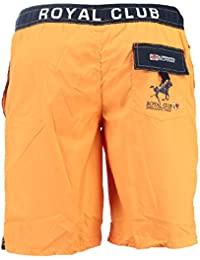 Geographical Norway–Geographical Norway Swimsuit Quatar Men Orange