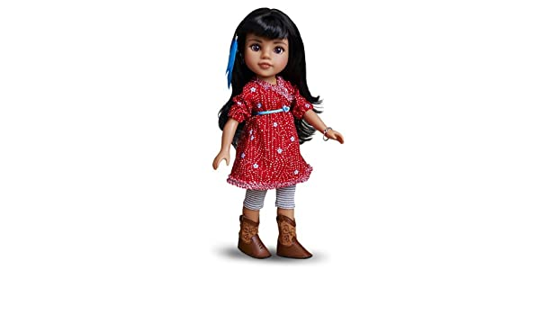 Buy Hearts for Hearts Girls Mosi American Indian Doll Online at Low