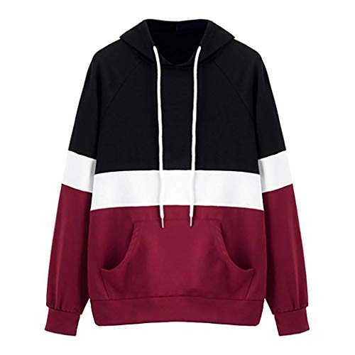 TWIFER Damen Mode Hoodie Sweatshirt mit Kapuze Oberteile Bluse