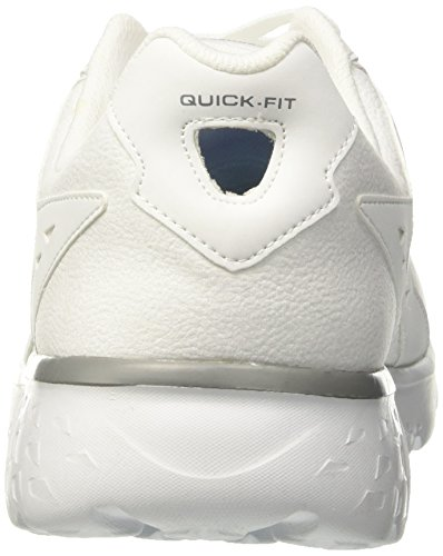 Running 400 Blanc Homme Chaussures Skechers bianco Eseguiti Vanno accelerare De nOx4AHPgwq