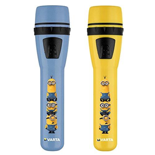 Varta 15610101421Minions Lampe de poche à LED, jaune