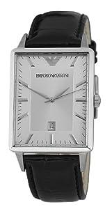 Reloj Emporio Armani Classic Collection AR2417 de cuarzo para hombre, correa de cuero color negro de Emporio Armani