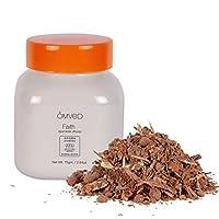 Omved FAITH - Aradhan Ayurvedic Sandalwood Dhoop Powder/Bakhoor - 100% Natural & Non-Toxic Ayurvedic Blend, 75g