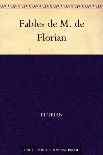 Couverture du livre Fables de M. de Florian
