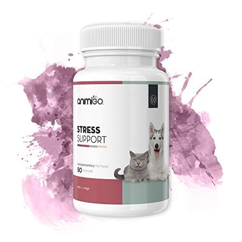 Animigo Suplemento Antiestrés para Gatos y Perros - para Situaciones de Estres...