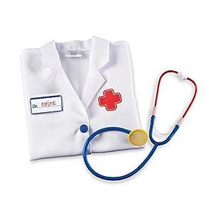 Learning Resources- Juego para Jugar a los médicos Pretend & Play, Color (LER9057)