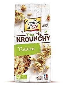 Grillon d'or Krounchy Nature Céréales Riches en Fibre 500 g