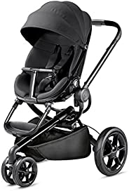 Quinny Moodd Urban Pushchair, Smart and Stylish Pushchair with Automatic Unfolding, 0 months - 3.5 years, Blac