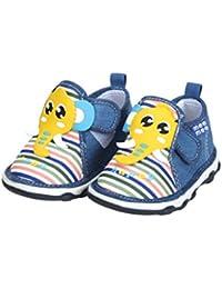 Mee Mee First Walk Baby Shoes with Chu Chu Sound (24 EU, Yellow)