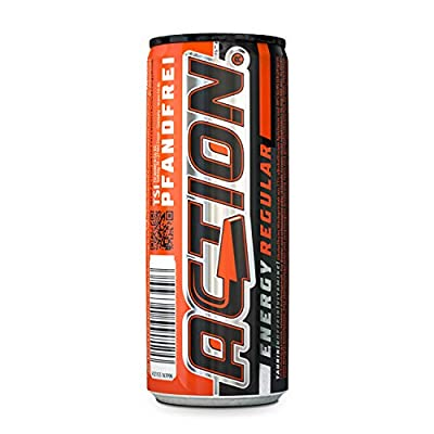 ACT!ON Energy Drink Regular PFANDFREI (24 x 250 ml)