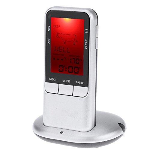 ChaRLes Ts-78 Digital Lcd Wireless Remote Barbecue Fleisch Kochen Küche Lebensmittel Thermometer (Kochen Schweinefleisch C)