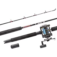 Abu Garcia Combo Muscle - Caña de pescar (2 partes) Talla:Muscle Tip Mt 702 Swh/gt 345 Rh Boat