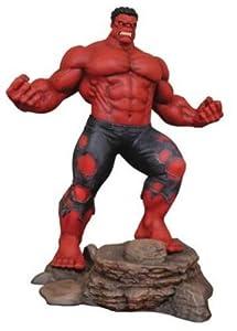 Diamond Estatua Red Hulk, Multicolor (JUN192397)