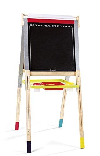 Janod - J09601 - Tableau Réglable Graffiti (bois)
