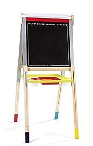 Janod - Graffiti Pizarra de madera con pies regulables (J09601)