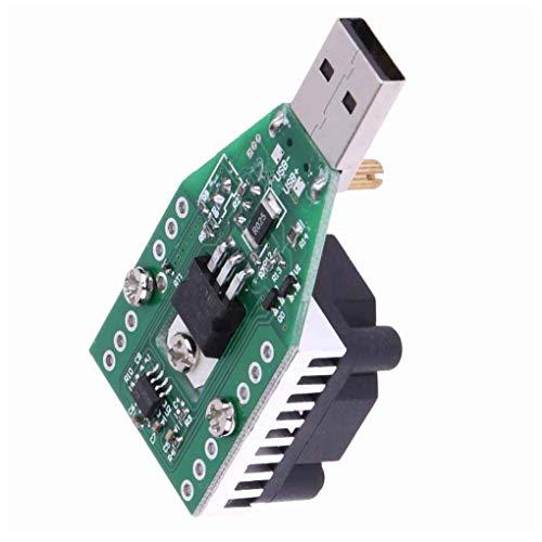 Level Great 15W USB Lastwiderstand DC 3.7-13V einstellbare Konstantstrom Elektronik Last Entlader Batterie-Kapazität Test-Messinstrument mit Fan - Fan-test