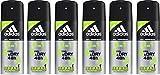Die besten Body Spray für Herren - adidas 6in1 Anti-Perspirant Deo Body Spray für Herren Bewertungen