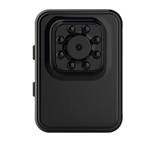 TLMYDD Mini Versteckte Kamera Spion Babysitter HD 1080P Innenhaus Minimum Cam Überwachungskamera Batteriebetriebene Bewegungserkennung Jagdkamera (Color : Red) (Babysitter Kamera)