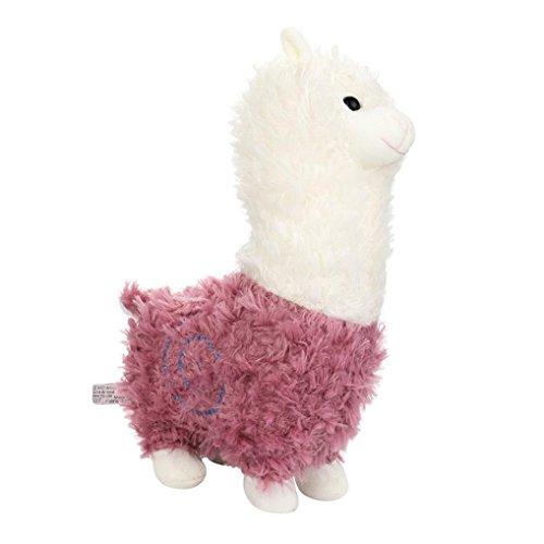 Plüsch Alpaka, Gusspower Entzückendes Kawaii Alpaka-Lama Arpakasso Weiches Plüsch-Spielzeug-Puppe Nettes Angefülltes Spielzeug Geschenke...