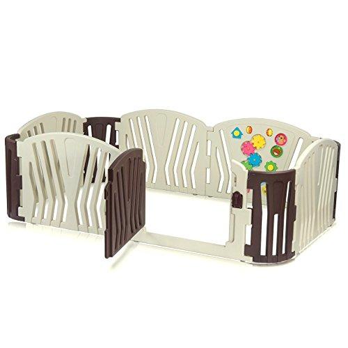 Baby Vivo Parque Infantil Plástico 10 Elementos - Brown
