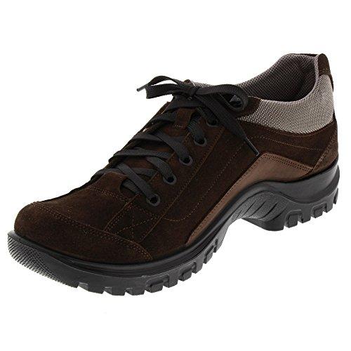 Brauner Herren Mokassin (Marc Shoes Herren Halvar Brauner Rauleder Halbschuh, Größe 40)